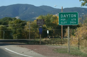 Dayton, WY.  A bit different from Dayton, OH