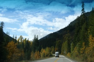 On the Trans-Canada Highway